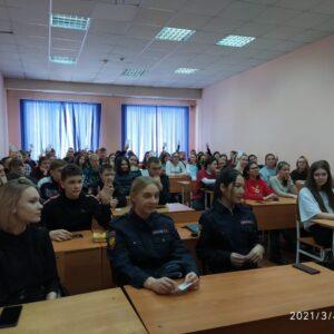 Встреча студентов с работником Управления по контролю за оборотом наркотиков_7